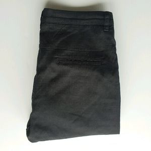 Scanlan Theodore Black Cropped Pants Size 8
